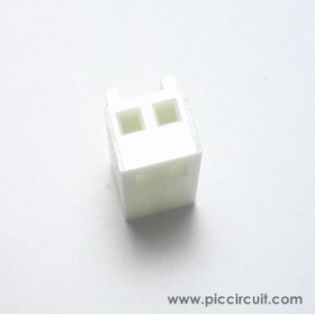 Wafer Housing (2.54mm, 1x2 Way)