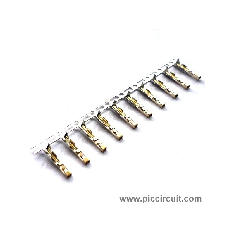 Pin Terminal (2.54mm, x10Way)