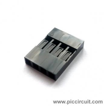 Pin Housing (2.54mm, 1x4 Way)