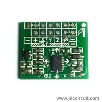 iCM32 - XYZ Accelerometer (±1.5g, ±6g)