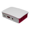 Raspberry-Pi-Case Enclosure, RPI 2& B+, Raspberry & White