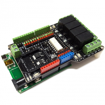 iCP12A - DAQduino (USB DAQ, PC Oscilloscope, Data Logger, Frequency Generator in Arduino Form)