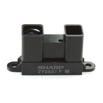 GP2Y0A02YK0F (Sharp Distance Sensor, Analog output, 20-150 cm / 0.7-5 feet)