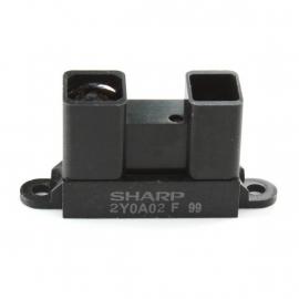 GP2Y0A02YK0F (Sharp Distance Sensor, Analog output, 20-150 cm / 0.7-5 feet)