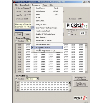 PICkit2 Plus (Enhanced PICkit2 Version)