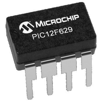 PIC12F629-I/P (PDIP-8)