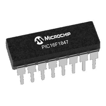 PIC16F1847-I/P (PDIP-18)