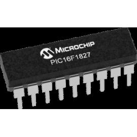 PIC16F1827-I/P (PDIP-18)