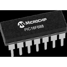 PIC16F688-I/P (PDIP-14)