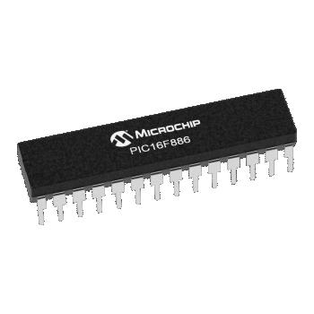 PIC16F886-I/SP (PDIP-28)