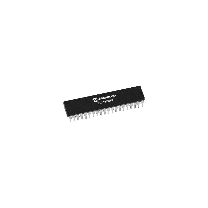 PIC16F887-I/P (PDIP)
