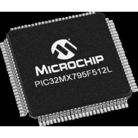 PIC32MX795F512L-80I/PF (TQFP)